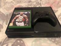 Xbox one with ufc 3