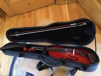 Stentor Violin 4/4 Student (Neck Rest Rosin Case)