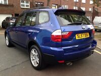 BMW X3 2.0 D SE 57 REG FULL SERVICE HISTORY CREAM LEATHERS SEATS HPI CLEAR P/X WELCOME