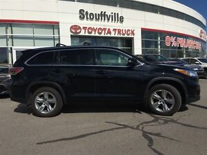 2015 Toyota Highlander Limited - Fully Loaded, Panoramic Moonroo