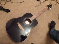 Ibanez Acoustic guitar with built in electronic tuner
