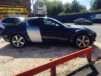 Mazda rx8 2.6 192 ps 04 reg only done 36,000 miles two tone brushed aluminium and metallic paint