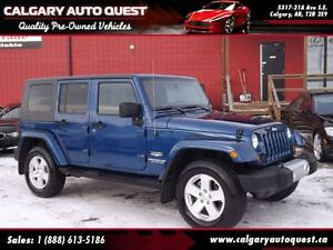 2010 Jeep WRANGLER UNLIMITED Sahara 4WD/NAVIGATION/LEATHER
