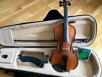 Violin for students, size: 1/2, SANDNER (Germany), used but in very good condition.