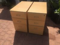 2 substantial and good quality filing cabinets free to anyone who will collect