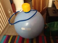 Pro Fitness Gym Ball and Pump.