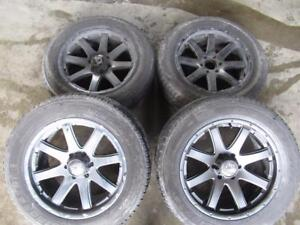 GMC DENALI WHEELS AFTER MARKET WITH TYRES