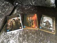 All 3 Hobbit DVDs
