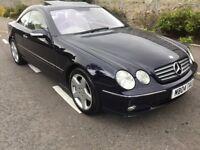 Mercedes CL500 2004 Pillarless coupe