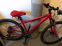29er carrera sulcata LTD mountain bike excellent condition used like twice