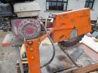 Stone, concrete saw .Norton clipper saw