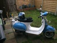 AJS MODENA 50cc scooter