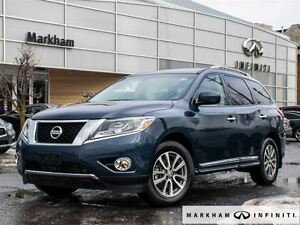 2015 Nissan Pathfinder SL Loaded,extreme low mileage !