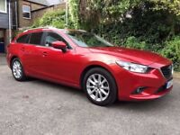 2013 mazda 6 2.2 diesel automatic estate skyactive , excellent condition , part exchange welcome