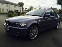 Hello for sale my lovely car sport Bmw 320i nice sport car 4dr saloon 52 plat run and drive perfect
