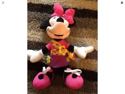 "Minnie Mouse 16"" Large Soft Toy Plush Fisher Price"