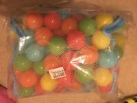 Chad Valley 100 multi-coloured play balls - BRAND NEW