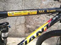 Giant XTC Team Full Suspension Mountain Bike