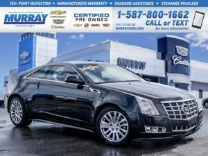 2013 Cadillac CTS **Leather!  Sunroof!**