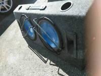 VRX Car speakers.2 Subwoofers with 2 Tweeters