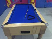 8 ft X 4 ASCOT pool table