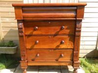 Mahogany Scotch Chest of Drawers