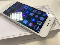 Apple iPhone 6 - 16GB - Silver Edition - Network Vodafone - ONLY £115- Boxed & Accessories