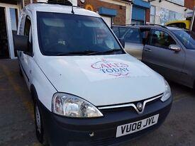 Fridge / Chiller / Refrigeration Van - Vauxhall Combo CDTI (55MPG+) - £1895 ono