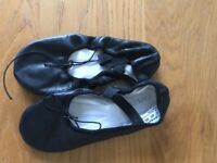 Ladies size 4 ballet shoes