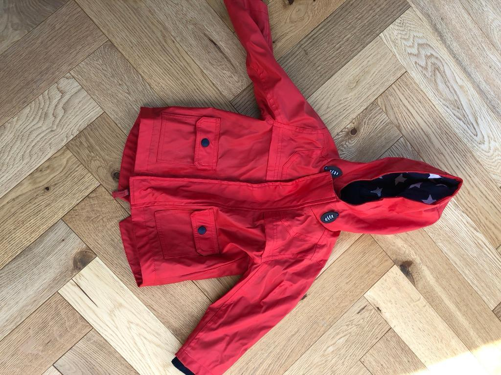 201a01dfc1c4 Marks and Spencer s Boys 12-18 months Red Fisherman Coat