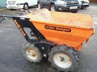 Muck truck 1/4 ton dumper
