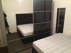 ikea white morvik wardrobe 180 new in leyton london. Black Bedroom Furniture Sets. Home Design Ideas