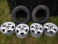 Landrover Freelander wheels and tyres