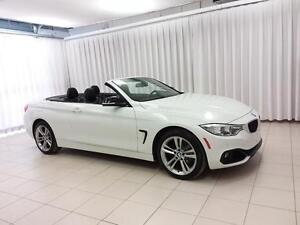 2014 BMW 4 Series 428i x-DRIVE CABRIOLET HARD TOP CONVERTIBLE SP