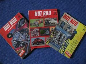 HOT ROD Year books 1962 1963 1964.