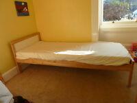 Child's IKEA SNIGLAR single bed very good condition