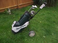Golf Set - Left Handed - Full Set with Trolley