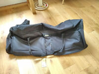 Large black suitcase with wheels MINT CONDITION