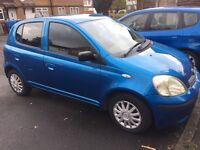 Toyota Yaris 04 - 5 door - ONLY 1 previous owner - Semi Automatic - Genuine Millage of 60,000