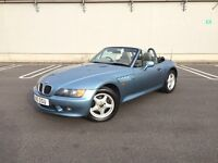 BMW Z3 1.9i Roadster - Manual Immaculate Condition - Low Mileage - 12 Months MOT