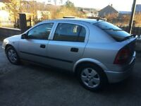 Vauxhall Astra 1.6 petrol , new mot, documented timing belt replacement, good history