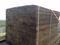"5"" Featheredge Cladding Log Store Shed Fence Panels"