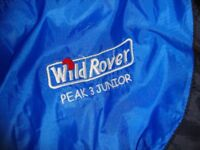 WILD ROVER POLYESTER HOLLOWFIBRE WITH HOOD SLEEPING BAG.
