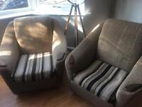 Two chairs - free for collection