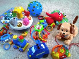 Selection of toddler toys, some with music & sound effects!