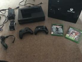 Xbox one bundle with lots of extras