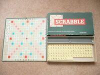 Vintage Scrabble Set