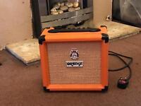 Guitar amp orange crush 12l excellent condition