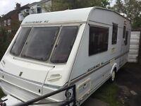 1999 abbey alliance SL 5 berth touring caravan