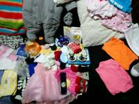 Big box of baby stuff